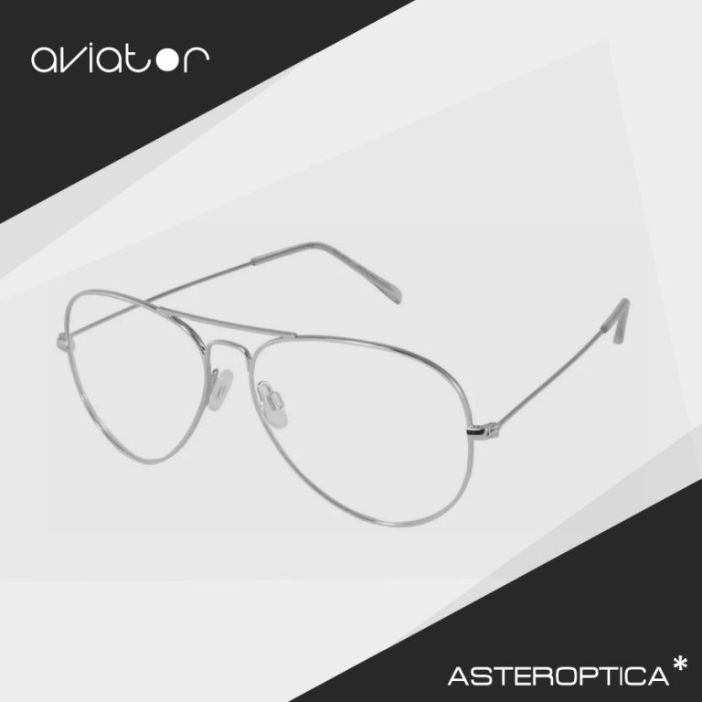 aviator-clear-silver